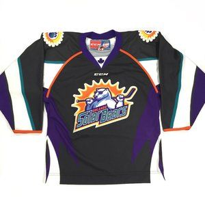 Orlando Solar Bears CCM Hockey Jersey Adult Small